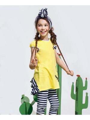 Комплект одежды Cookie. Цвет: темно-синий, желтый, белый