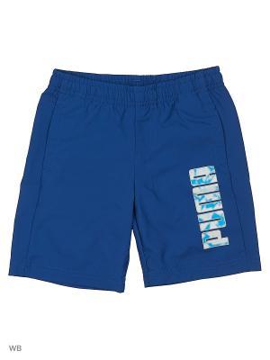Шорты PUMA Hero Woven Shorts. Цвет: синий