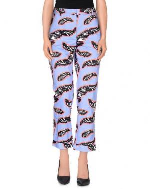Повседневные брюки SI-JAY. Цвет: фиолетовый