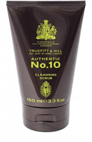 Скраб для очищения кожи лица Authentic No. 10 Truefitt&Hill. Цвет: бесцветный