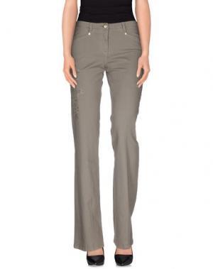 Джинсовые брюки TRUST TOILETTE. Цвет: серый