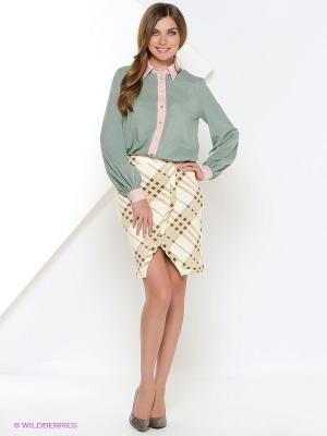 Рубашка La Via Estelar. Цвет: зеленый