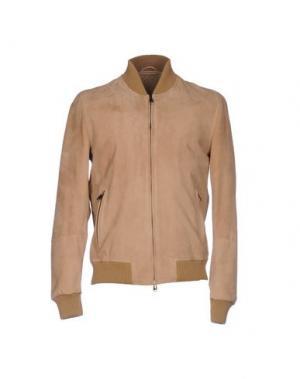 Куртка OLIVIERI. Цвет: верблюжий