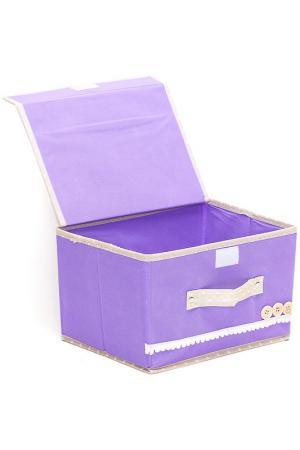 Коробочки для хранения 2шт. HOMSU. Цвет: фиолетовый