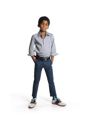 Рубашка Appaman. Цвет: серый