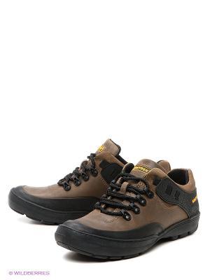 Ботинки GREYDER. Цвет: темно-бежевый, черный