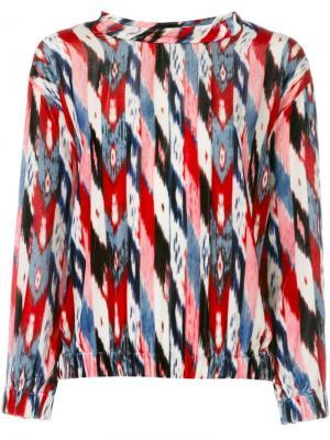 Блузка Leiko Isabel Marant Étoile. Цвет: многоцветный
