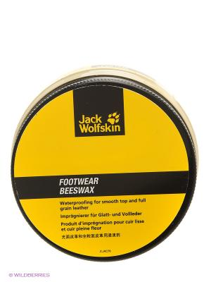 Крем для обуви FOOTWEAR BEESWAX Jack Wolfskin. Цвет: прозрачный