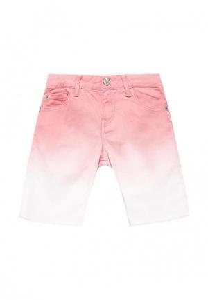 Шорты джинсовые Gap. Цвет: розовый