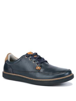 Ботинки WESTFALIKA. Цвет: темно-синий