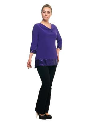 Кофточка OLSI. Цвет: фиолетовый