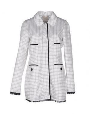 Куртка GEOSPIRIT. Цвет: белый