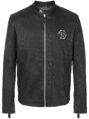 Куртка Artem Philipp Plein. Цвет: чёрный