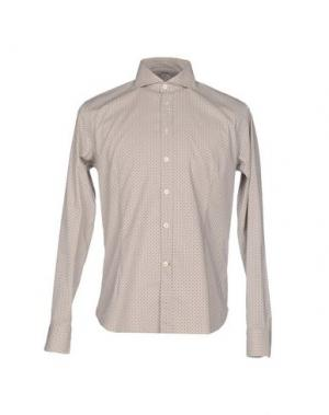 Pубашка BRANCACCIO C.. Цвет: песочный