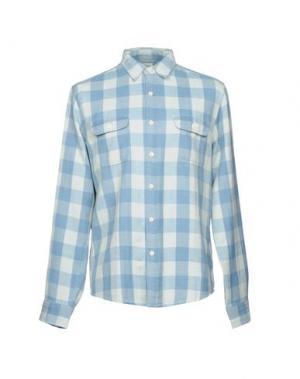 Pубашка FAHERTY. Цвет: небесно-голубой
