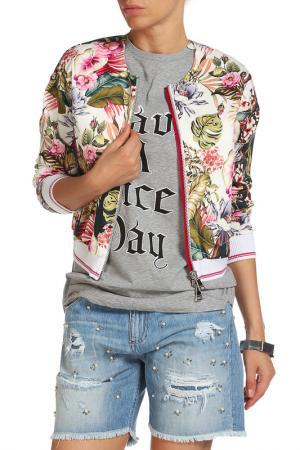 Куртка Beatrice. B. Цвет: зеленый, цветы