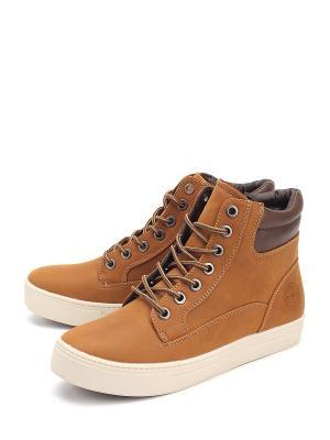 Ботинки Patrick. Цвет: коричневый