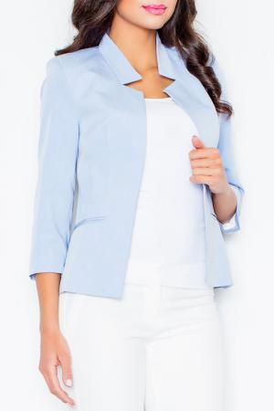 Жакет Figl. Цвет: голубой