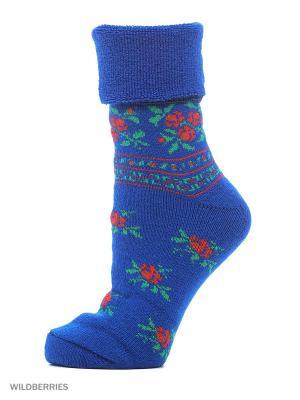 Новогодние носки HOSIERY. Цвет: темно-синий