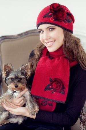 Комплект ромина (шапка+шарф) Landre
