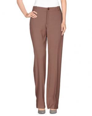 Повседневные брюки AILANTO. Цвет: голубиный серый