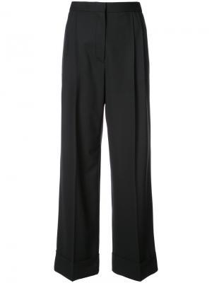 Широкие брюки Lian The Row. Цвет: чёрный
