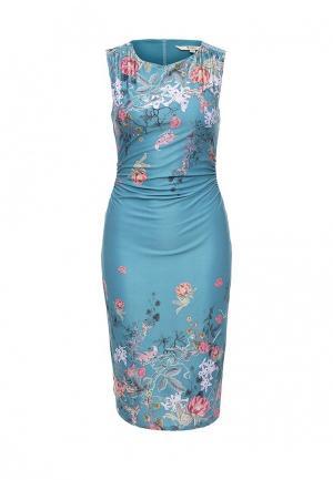 Платье Y by Yumi. Цвет: голубой