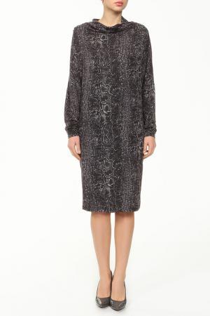 Платье Paola Joy. Цвет: серый змея