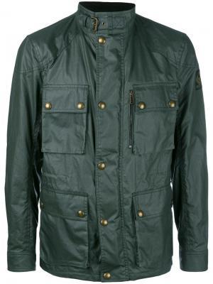 Куртка карго Belstaff. Цвет: зелёный