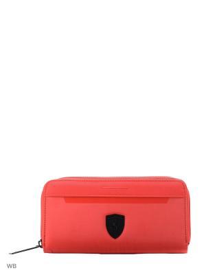Портмоне Ferrari LS Wallet F PUMA. Цвет: красный