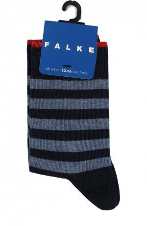 Носки в полоску Falke. Цвет: синий