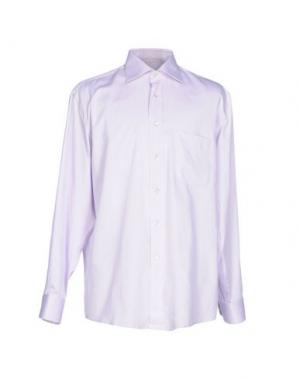 Pубашка VAN LAACK. Цвет: светло-фиолетовый