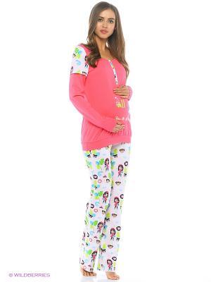 Пижама impressmama. Цвет: фуксия