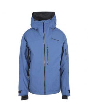 Куртка PEAK PERFORMANCE. Цвет: грифельно-синий