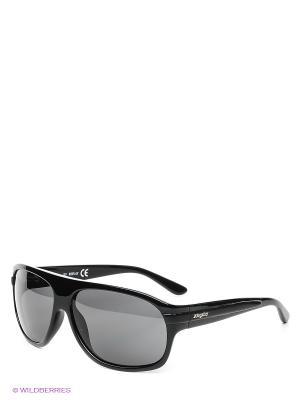 Очки солнцезащитные RE 356S 01A Replay. Цвет: черный