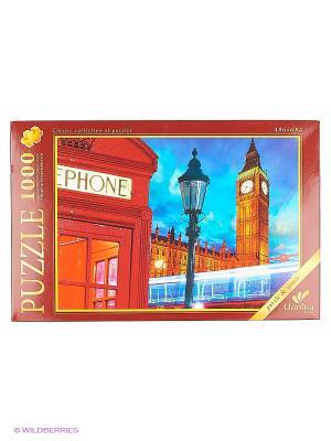Пазлы 1000 элементов Лондон Канц-Эксмо. Цвет: красный