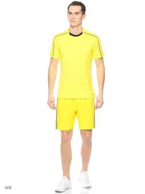 Шорты Adizero Gk Adidas. Цвет: желтый