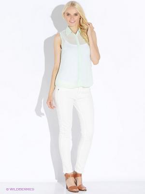 Блузка Up Girl. Цвет: светло-зеленый