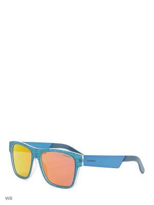 Солнцезащитные очки CARRERA 5002TX FTY. Цвет: синий, зеленый
