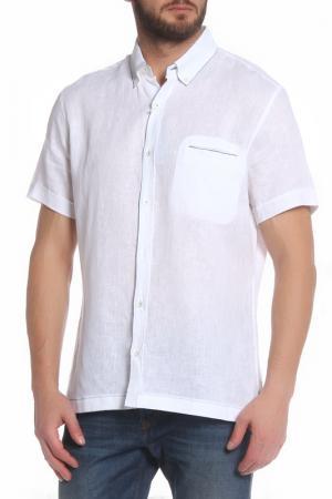 Рубашка с короткими рукавами Cortigiani. Цвет: белый