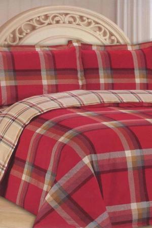 Постельное белье 1,5 сп. 70x70 Patrizia. Цвет: красный
