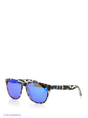 Солнцезащитные очки ROXY. Цвет: черный, белый