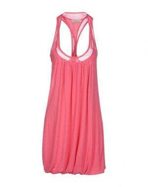 Короткое платье ALYSI. Цвет: светло-фиолетовый