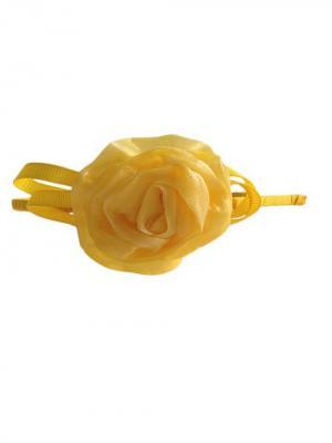 Ободок для волос City Flash. Цвет: желтый