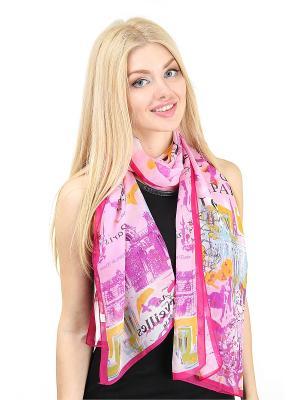 Платок Migura. Цвет: фиолетовый, розовый, желтый, черный, синий