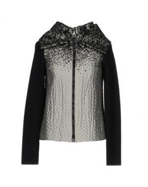 Куртка JO NO FUI. Цвет: серый