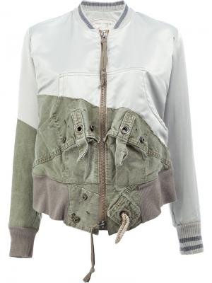 Куртка Tent Flight Greg Lauren. Цвет: зелёный