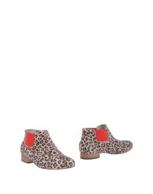 Полусапоги и высокие ботинки EMANUELA PASSERI. Цвет: голубиный серый