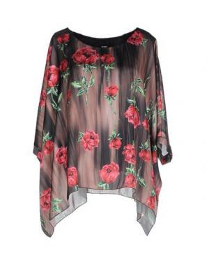 Блузка TO-MAY. Цвет: хаки