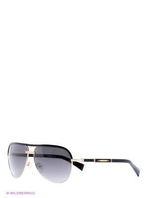 Солнцезащитные очки BLD 1513 101 Baldinini. Цвет: золотистый, черный